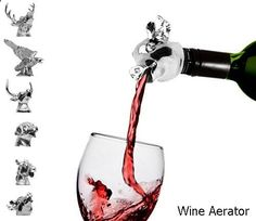 Wine Aerator - amazing selection. Need to take a look...