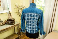 This DIY Woven Denim Jacket is an adorable statement piece to your closet! For more fashionable DIYS, tune in to Home & Family weekdays at 10a/9c on Hallmark Channel!