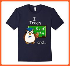 Mens I Teach and I'm Watching-Funny 2 Sided Teacher Gift T Shirt 2XL Navy - Careers professions shirts (*Partner-Link)