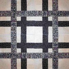 Neutral Quilt Block Pattern | FaveQuilts.com