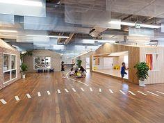 Innovadora idea de arquitectura y diseño interior para jardines infantiles, diseño, arte - copia