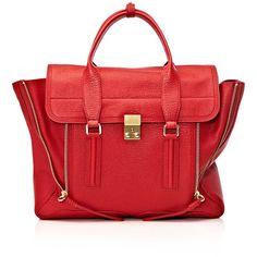 3.1 Phillip Lim Pashli satchel bag ❤ liked on Polyvore