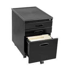 Calico Designs 3-Drawer Metal File Cabinets | Staples