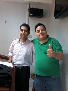 Con Teacher Jorge Herrera de Intermediate 10