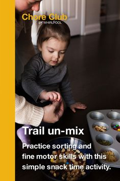 These fun activities from Whirlpool can help parents share important life skills with their kids and reinforce concepts from school through household chores. Tuff Tray, Fun Activities For Toddlers, Mad Science, Building For Kids, Crop Circles, Help Kids, Future Children, Creative Kids, Raising Kids