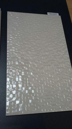 Bathroom tiles - Porcelanosa cubica blanco
