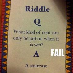 Riddle Fail