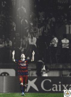 Exaltando a Dios en el futbool y en el barcelona