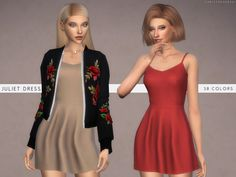 Sims 4 CC's - The Best: Juliet Dress by Christoper067
