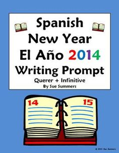 Best Family Learning Spanish Images  Learn Spanish Learning  Spanish New Year Writing Prompt  Essay  Querer  Infinitive With  Holidays Months And Custom Writings Death Penalty also English Persuasive Essay Topics  Research Proposal Essay Example