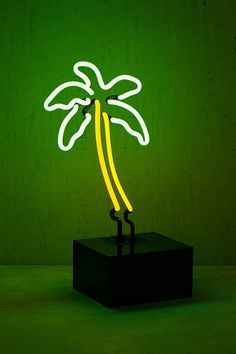 I've wanted nothing more in my entire life. Neon Mfg. Palm Tree Table Lamp