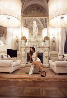 A White Party at Villa Cora | Song of Style