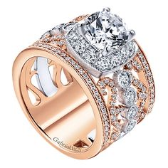 Barkevs Princess Cut Channel Set Diamond Engagement Ring