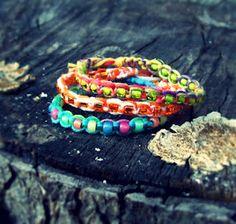 Another square knot bracelet