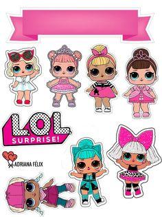 Lol Doll Cake, Animal Birthday Cakes, Bicycle Wedding, Eid Crafts, Girly Drawings, Doll Party, Cartoon Art Styles, Lol Dolls, Custom Cards