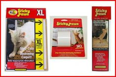 Giveaway: Sticky Paws Scratching Solutions from Pioneer Pet