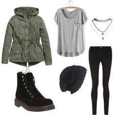 A fashion look from June 2015 featuring cotton blend t shirts, khaki green parka and super stretch skinny jeans. Browse and shop related looks. Frame Denim, Wet Seal, Polyvore Fashion, Clothing, Image, Style, Outfits, Swag, Kleding