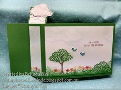 Wiper Card, Stampin' Up! Sprinkles of Life