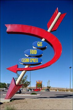 Neon and Lighted Signs--Route 66 Casino, Albuquerque, NM Road 66, Route 66 Road Trip, Travel Route, Road Trips, Old Route 66, Historic Route 66, Visual Merchandising, Retro Signage, Vintage Neon Signs