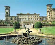 Osborne House-Summer home for Queen Victoria and Prince Albert/On the Isle of Wight.