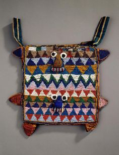 Beaded Bag Nigeria Yoruba peoples UCLA Fowler Museum of Cultural History Yoruba People, Afrique Art, Textiles, Soul Art, African Masks, Ancient Jewelry, Beaded Bags, Necklace Types, Tribal Art