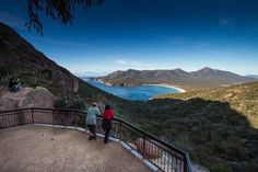 Wineglass Bay lookout, within the Freycinet National Park on Tasmania's East Coast. Did the walk up to this lookout on my last visit to Tassie. It was pretty hard going up but definitely worth it.