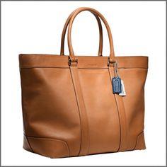 Love the Coach Bleeker Weekend bag. LOVE.