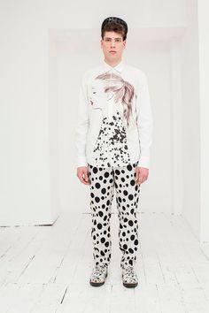 Dalmatian-inspired A/W 13/14 collection by London #menswear designer@joseph_Turvey