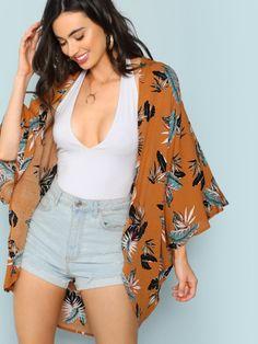 Kimono Fashion, Fashion Clothes, Boho Fashion, Fashion Women, Fashion Outfits, Short Outfits, Outfits For Teens, Casual Outfits, Cute Summer Outfits