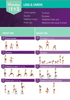 Bikini body guide - Kayla itsines - Week 1&3