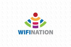 Wifi Nation - $250 (negotiable) http://www.stronglogos.com/product/wifi-nation #logo #design #sale #wireless #technology #wi-fi #mobile #IT