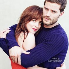 Dakota et Jamie. #Fifty Shades