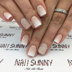 Here you can find winter nail designs that look elegant and lovely. We have picked amazing winter-themed nail designs that can reveal your creativity. Winter Nail Designs, Winter Nail Art, Winter Nails, Summer Nails, Unique Nail Designs, Art Designs, Winter Wedding Nails, Winter Makeup, Wedding Summer