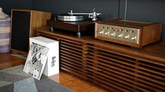 VPI Classic 1 ClearAudio Maestro V2 rebuilt H.H. Scott 299c Klipsch Heresy III Pure bliss!