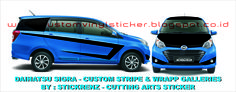 Daihatsu Sigra - Custom Stripe & Wrapp Concept Galleries 001