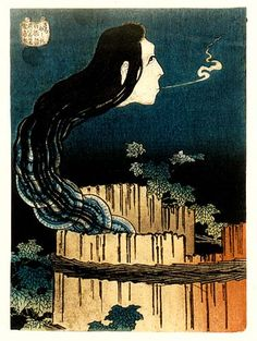 Hokusai - House of Plates - Ghosts, Demons and Spirits in Japanese Lore