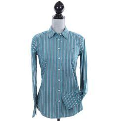 Tommy Hilfiger Women Long Sleeve Stripe Button Down Shirt - Free $0 Shipping #TommyHilfiger #ButtonDownShirt #Casual