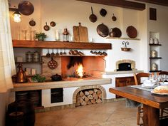 #kitchen #tavern #rustic