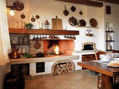 Cucina in muratura rustica n.01