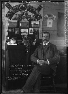 Manager of Cochrane Ranche (southern operation) at headquarters: Belly River, near modern-day Glenwood AB Calgary, Ranch, Canadian History, Classic Man, Abraham Lincoln, Old Photos, Like You, Nostalgia, Southern