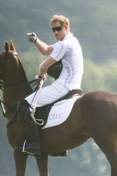 Swoon Over These Hot Photos of Prince William and Prince Harry Playing Polo