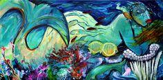 Diane Collet: Artist's statement and gallery representation Acrylic Paintings, Artwork, Toile, Work Of Art, Auguste Rodin Artwork, Artworks, Illustrators