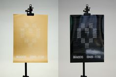 Invaders poster series by christian gross