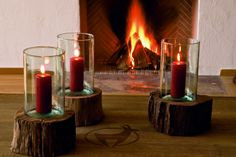 Kamin Kitzhof Suite Mountain Designs, Candle Holders, Candles, Porta Velas, Candy, Candle Sticks, Candlesticks, Candle, Candle Stand