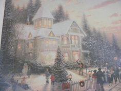Thomas Kinkade Victorian Christmas Jigsaw Puzzle New 1000 Pcs 24 x 30 | eBay