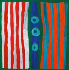 Dolly Jukuja Snell - 'Kurtal'   Aboriginal Art   Outstation