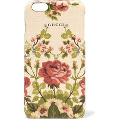 Gucci for NET-A-PORTER Adonis floral-print textured iPhone 6 Plus case (3,955 MXN) ❤ liked on Polyvore featuring accessories, tech accessories, gucci, phone, phonecases and antique rose