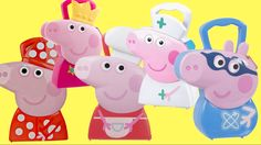 Toys Unlimited - Compilation Peppa Pig Carry Case, Fairy Princess Nurse,...