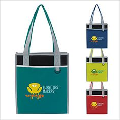 Promotional Products, Items, Gifts, Custom Imprinted Logo Advertising Specialties :: Product :: Convention-All Tote
