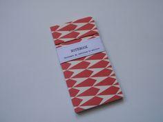 Notebooks / Bloco (12 x 6cm) handmade by Cadernos de atelier facebook.com/cadernosdeatelier